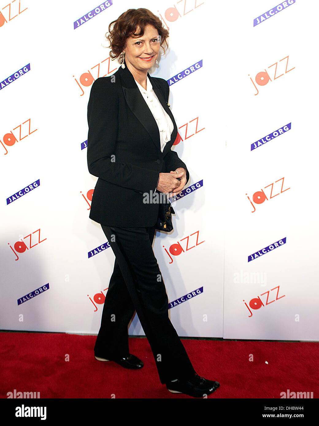 Susan Sarandon attending 'The Paul Simon Songbook' held at Frederick P Rose Hall at Lincoln Center for Jazz New York City USA - - Stock Image