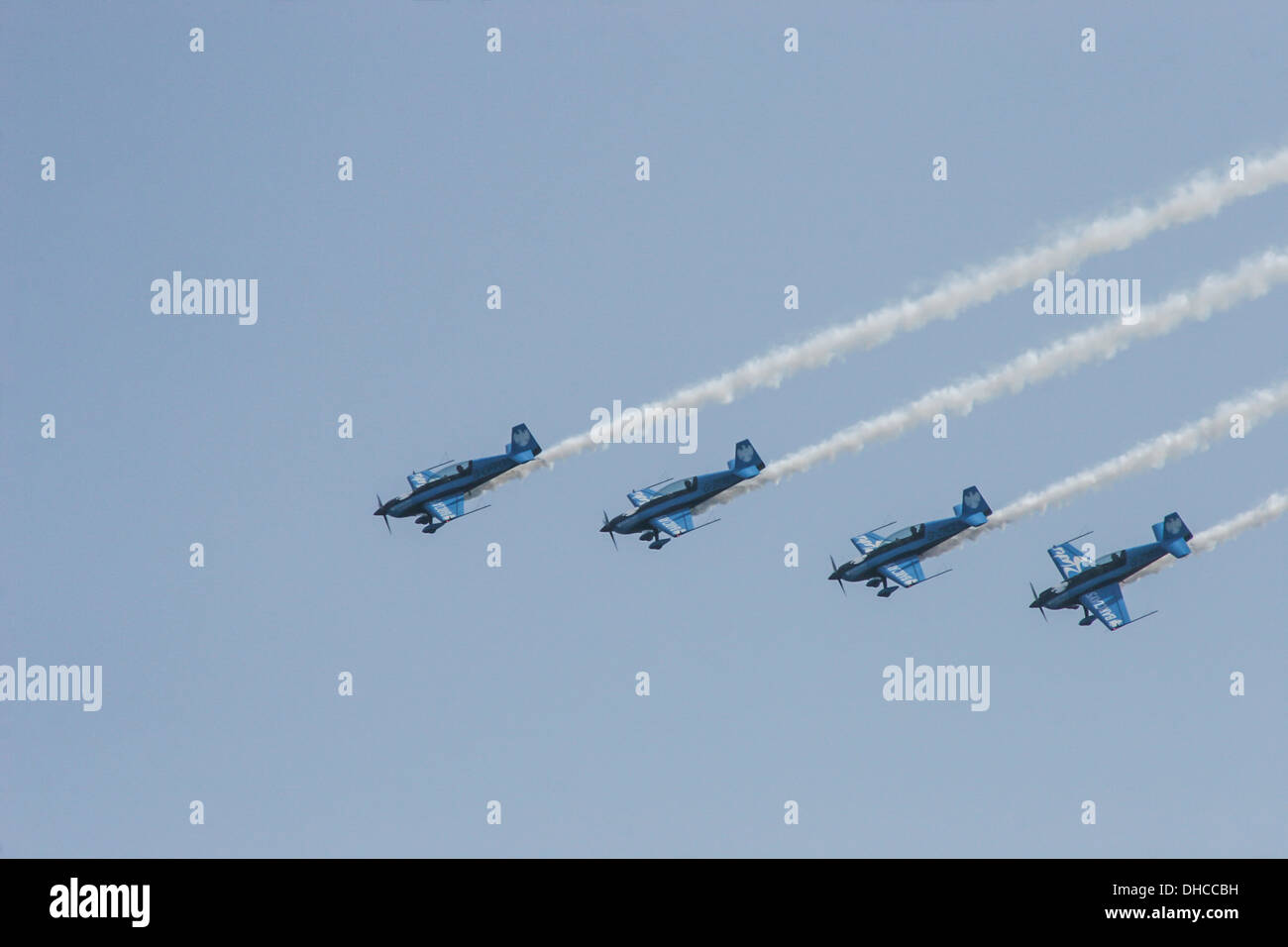 'The Blades' at Bournemouth Air Festival 2008. - Stock Image