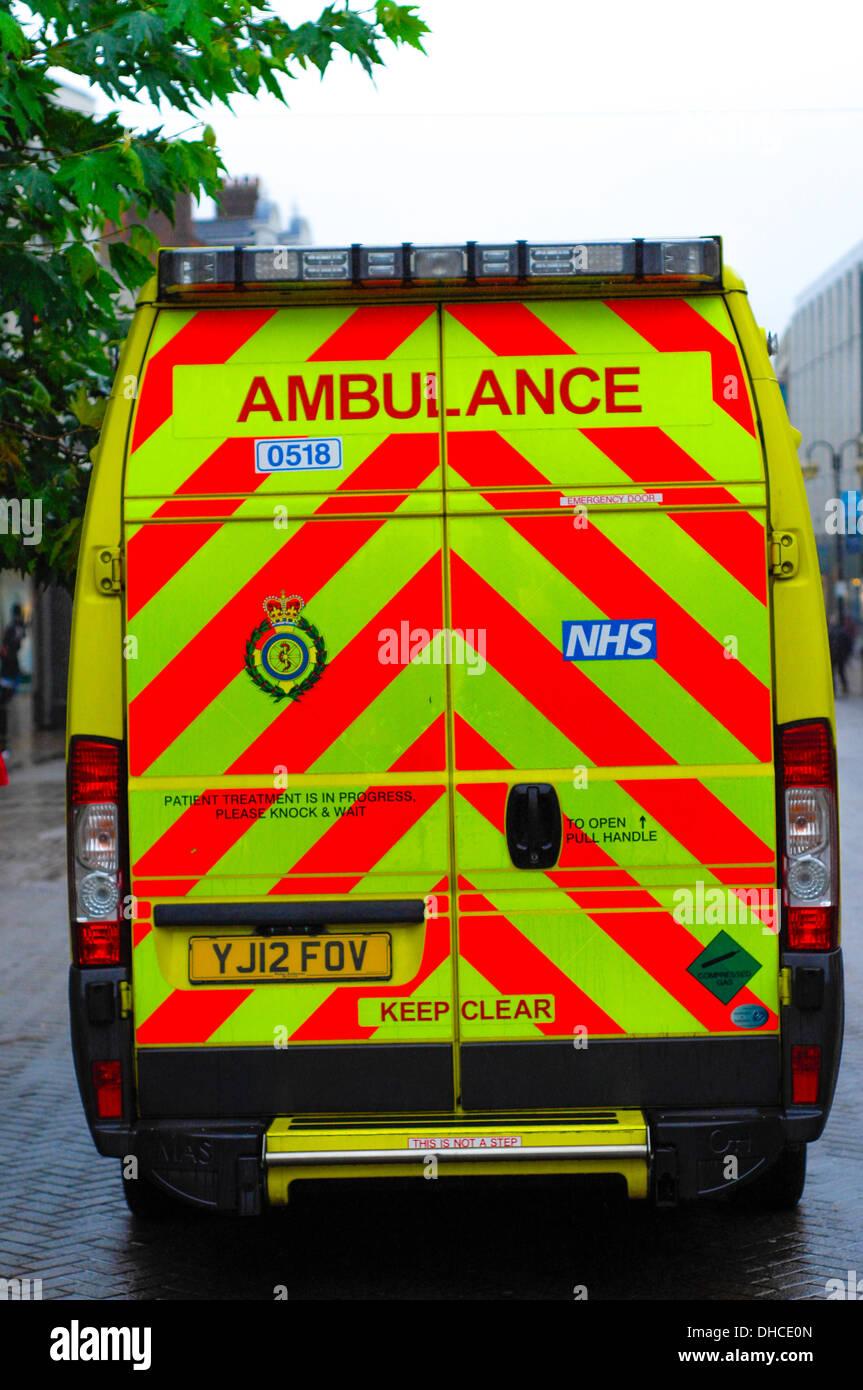 Ambulance Northampton - Stock Image