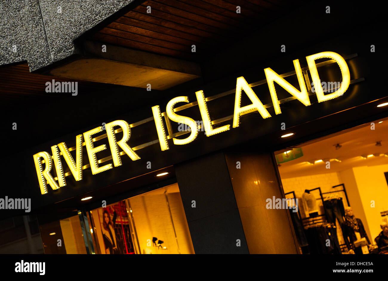 River Island store Northampton Stock Photo