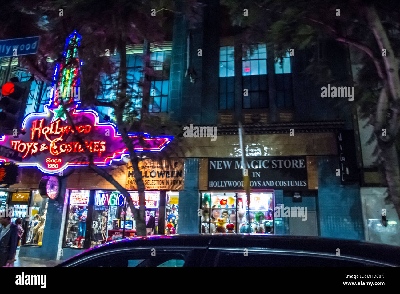 A costume toy and Magic store on Hollywood Blvd in Hollywood California  sc 1 st  Alamy & A costume toy and Magic store on Hollywood Blvd in Hollywood Stock ...