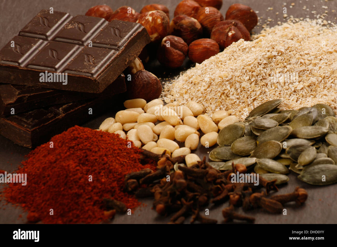 Foods Rich in Manganese - Stock Image