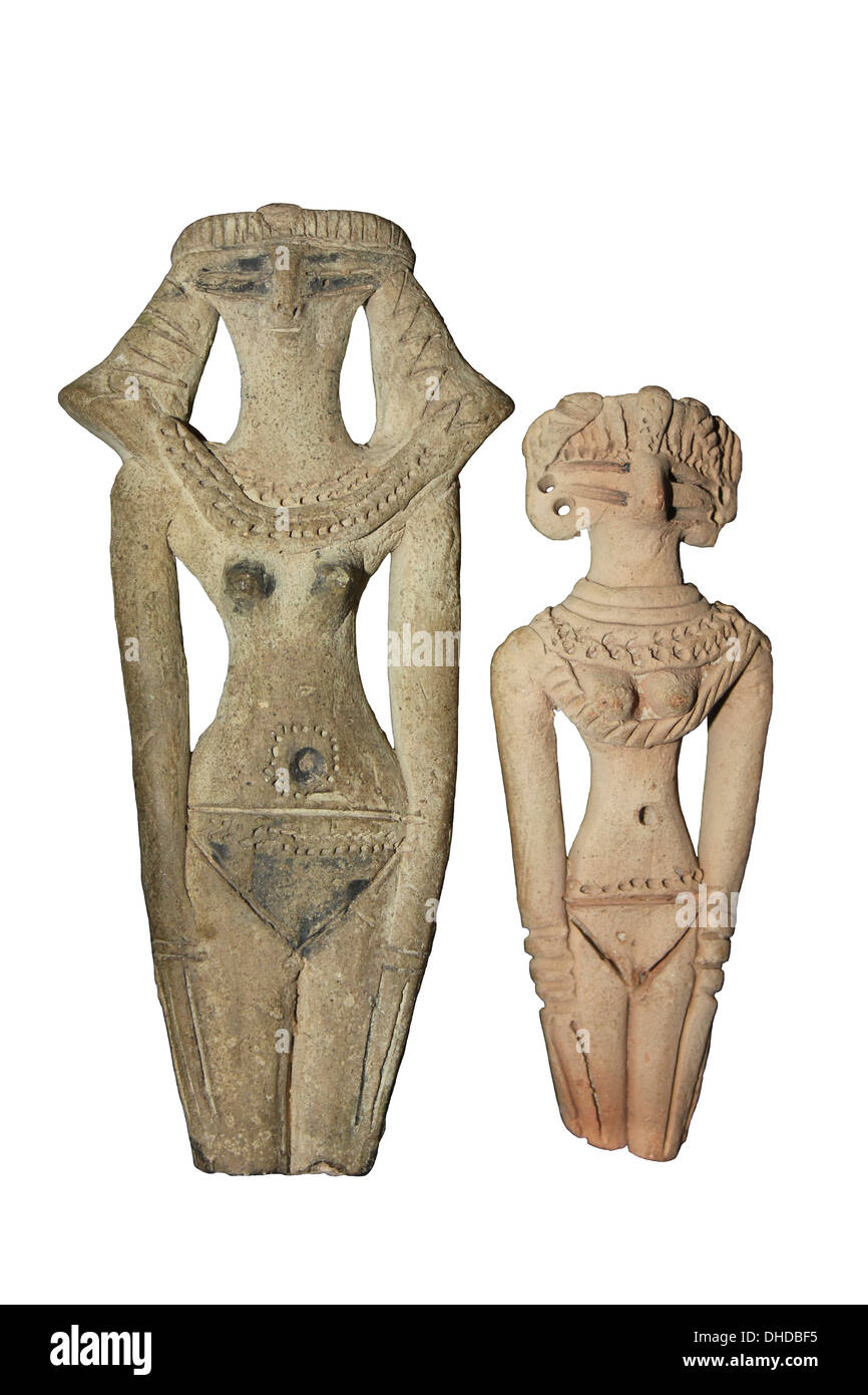 Egyptian Fertility Figures - Stock Image