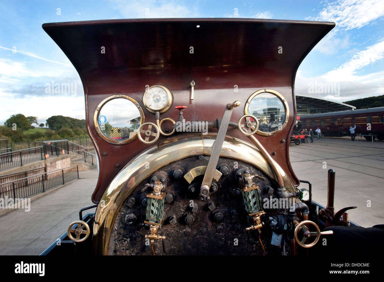 4 4 0 Tender Engine Steam Locomotive Stock Photos & 4 4 0