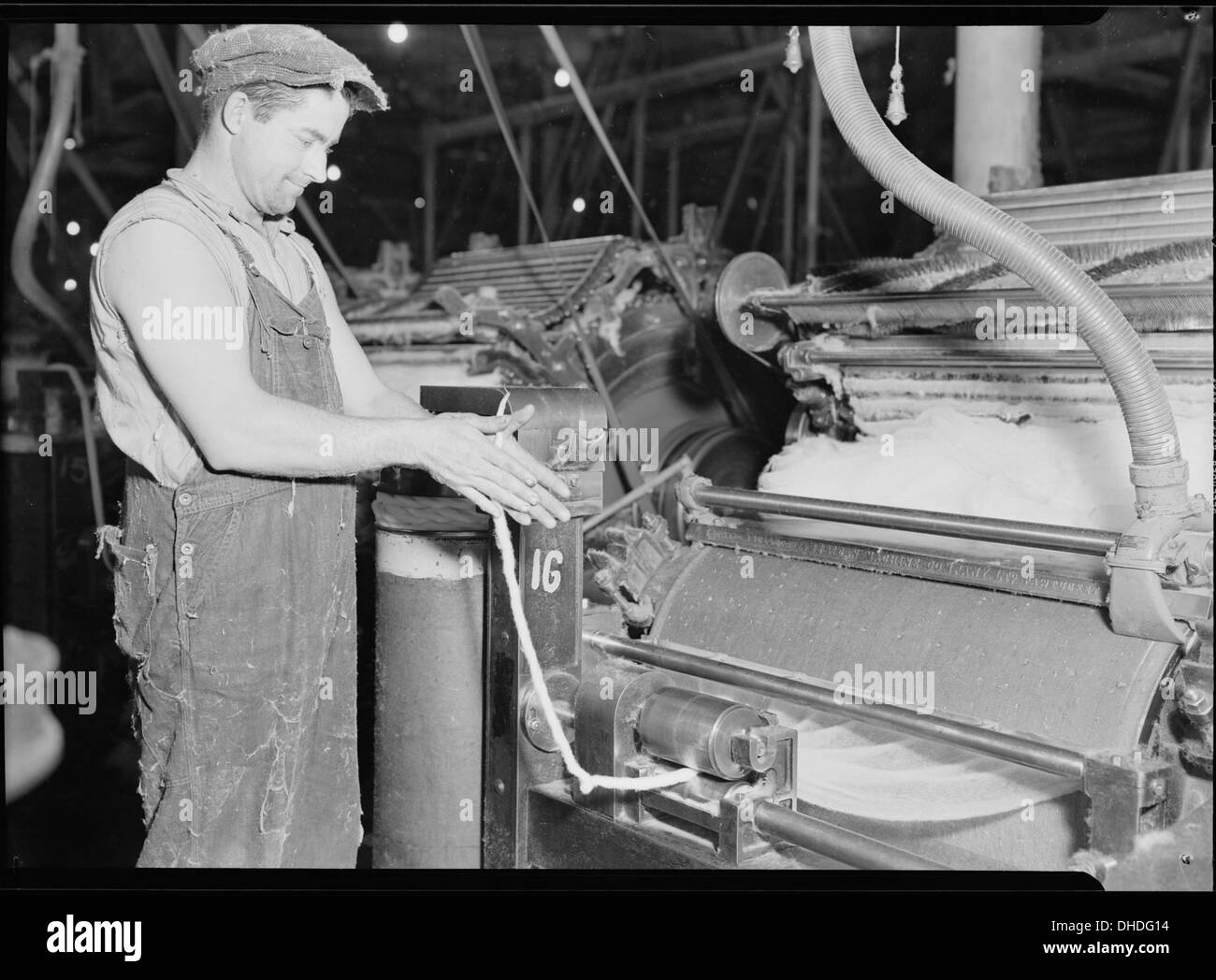 High Point, North Carolina - Textiles  Pickett Yarn Mill  Cards