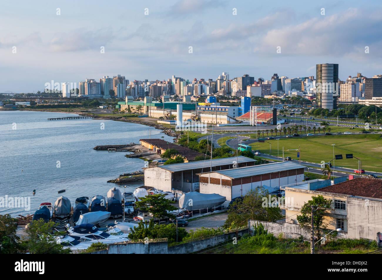 View over Florianopolis, Santa Catarina State, Brazil - Stock Image