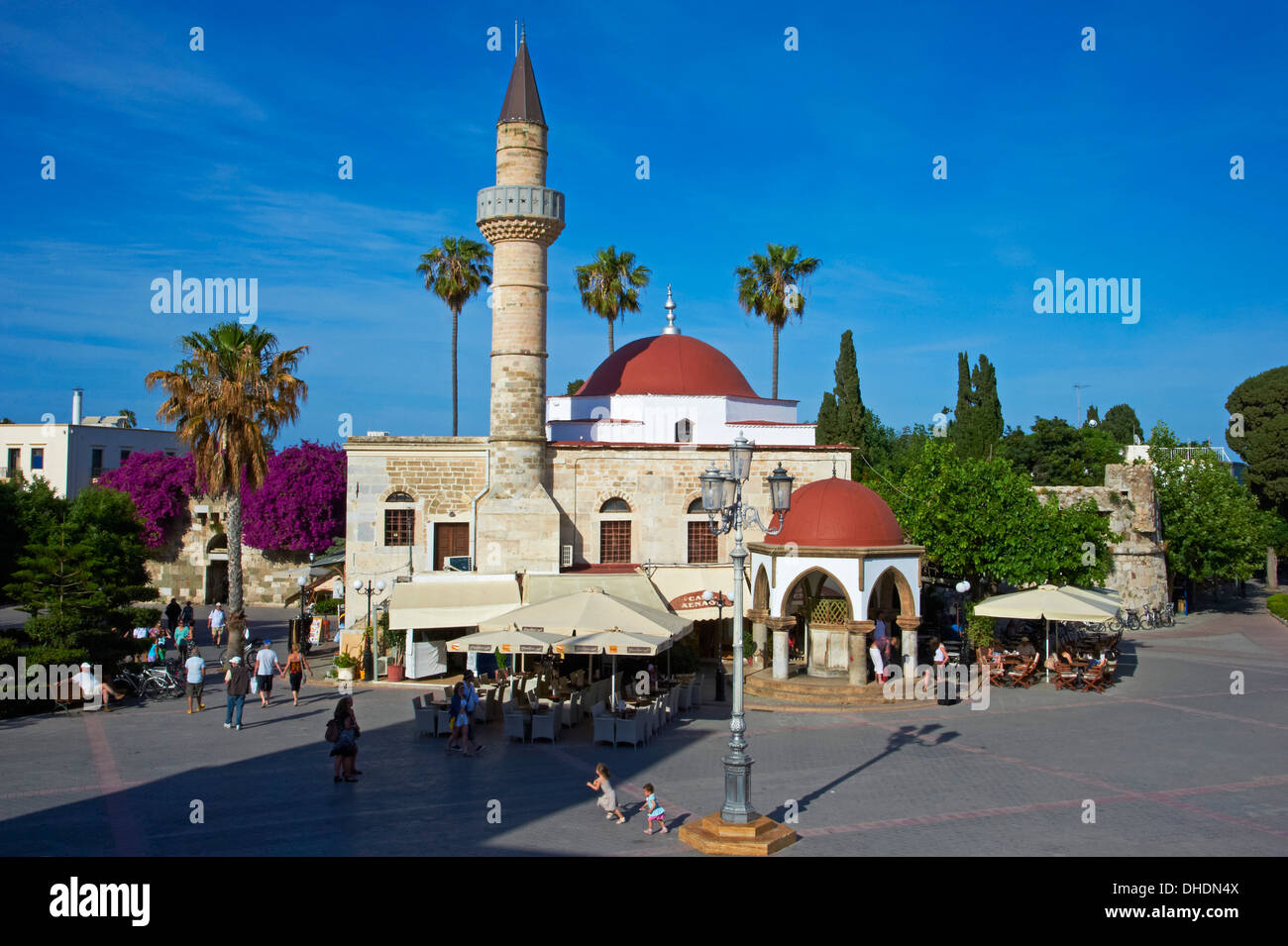 Agora, Kos city, Kos Island, Dodecanese, Greek Islands, Greece Stock ...