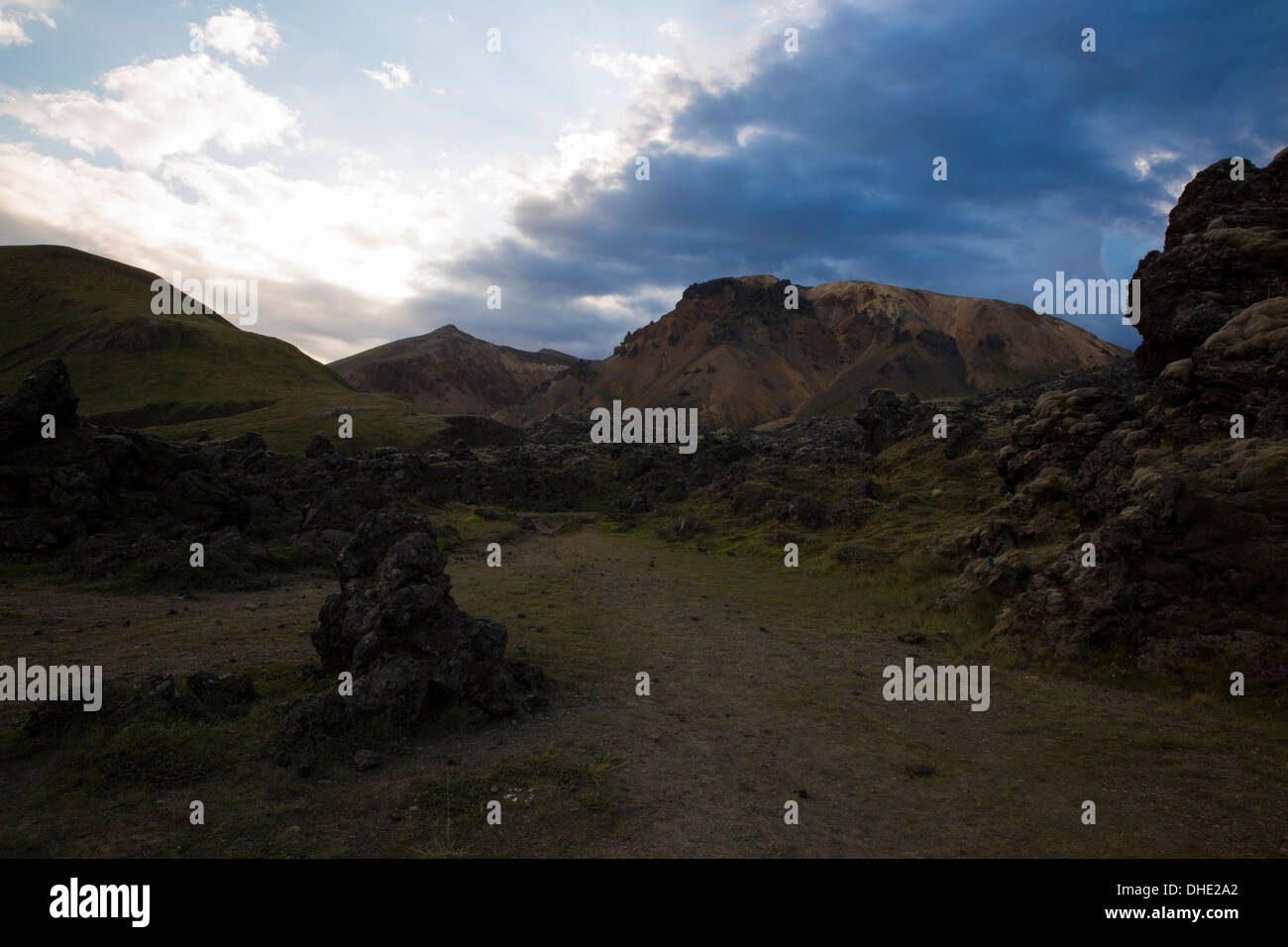 F208 from landmannalaugar Stock Photo