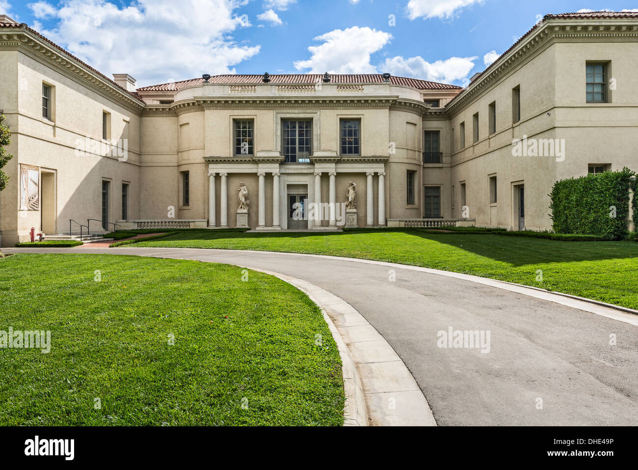The magnificent Huntington Art Gallery. - Stock Image