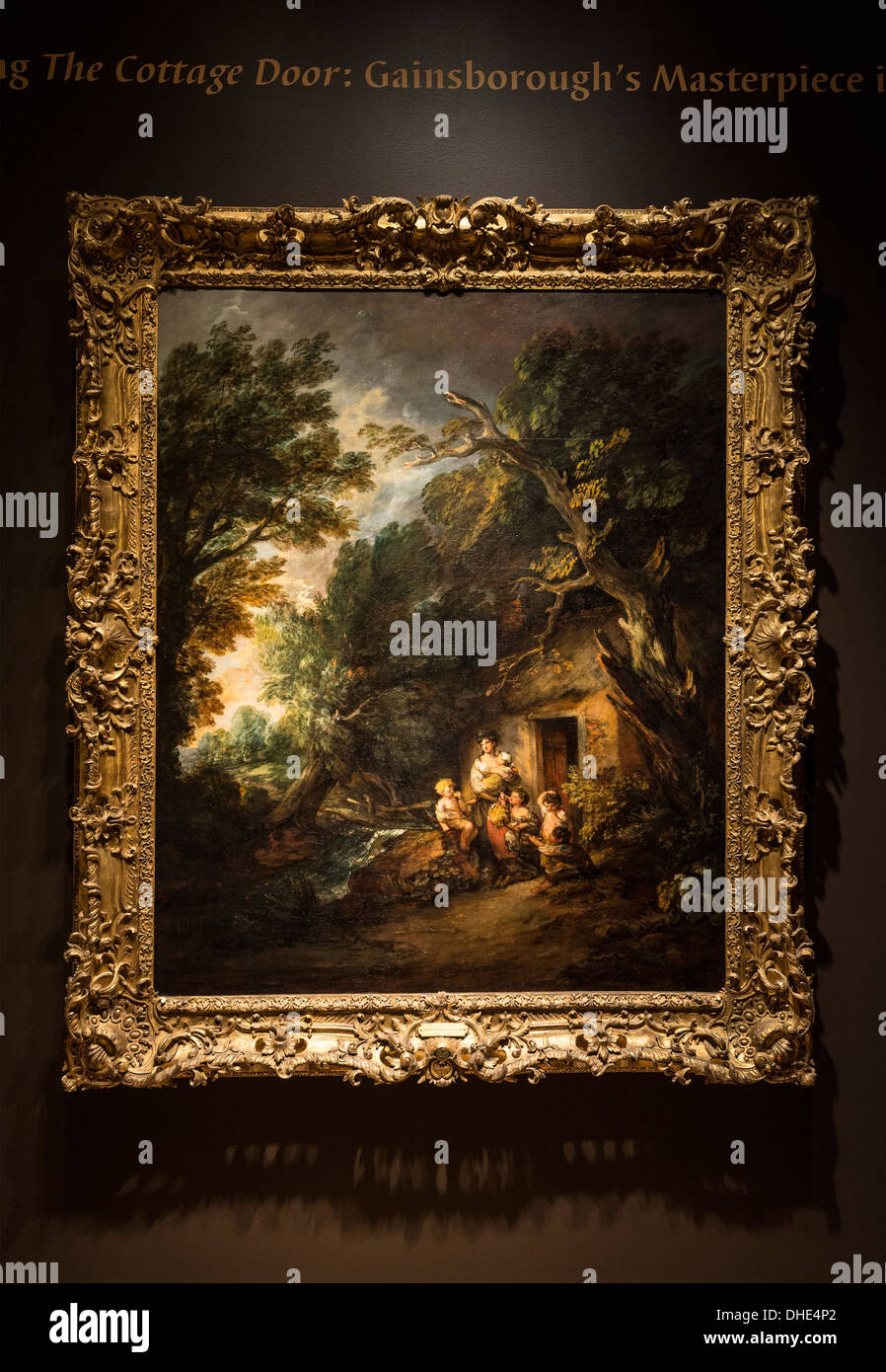 The Cottage Door by Thomas Gainsborough is among his most famous paintings. & The Cottage Door by Thomas Gainsborough is among his most famous ...