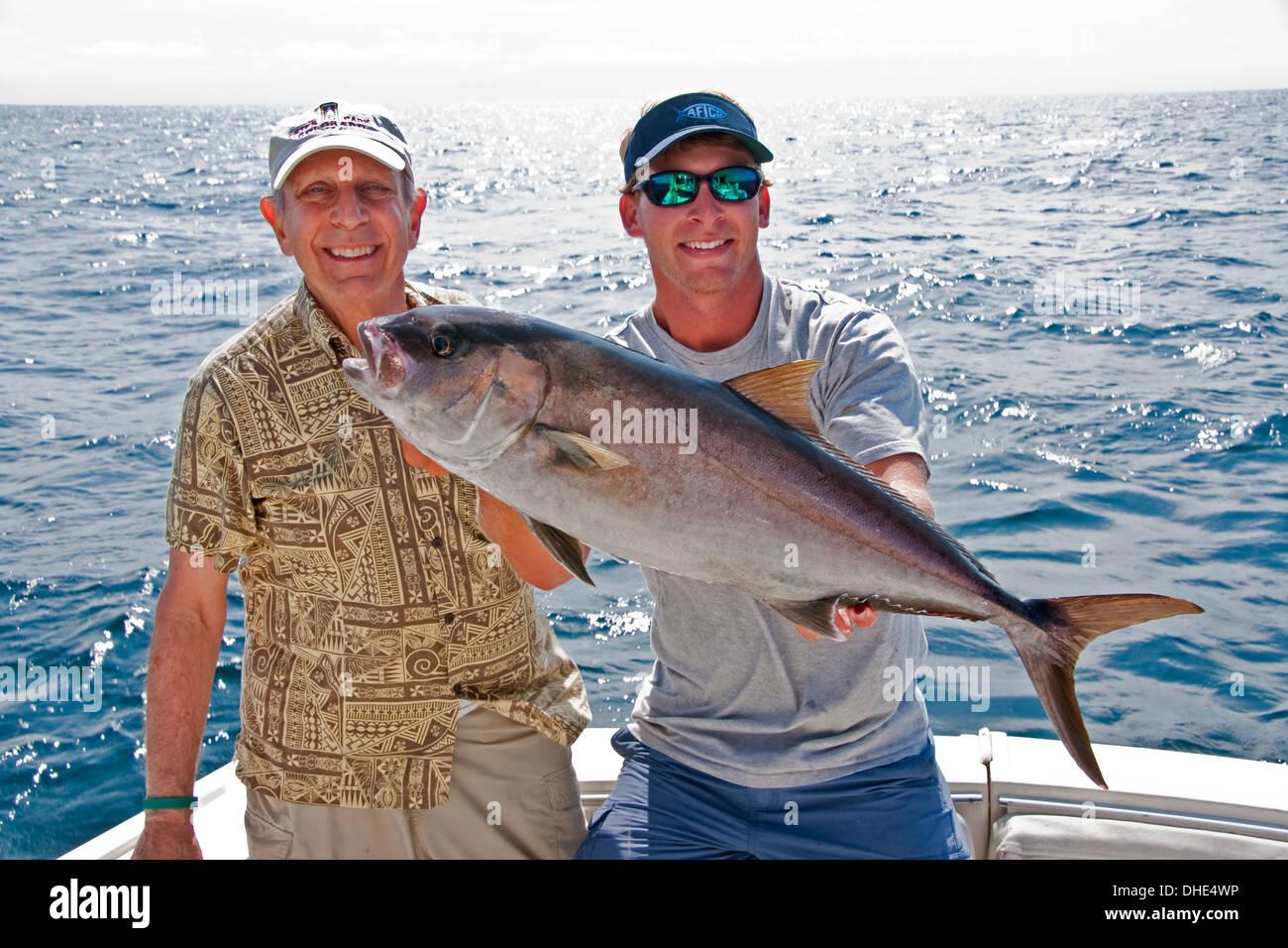 Alabama Gulf Coast charter fishing. - Stock Image