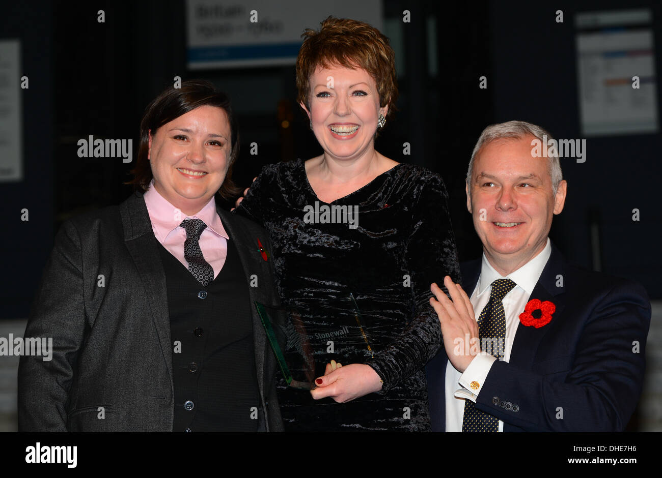 London, UK. 7th Nov 2013.  Baroness Stowell, Stonewall Politician Award of the year.Stonewall Awards 2013 taking place at the Victoria and Albert Museum. Credit:  See Li/Alamy Live News - Stock Image