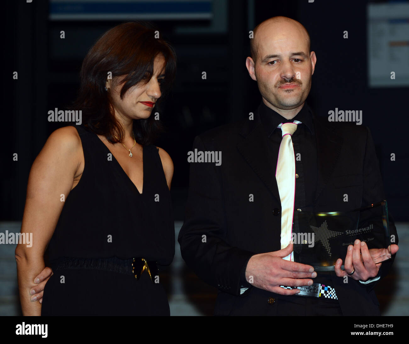 London, UK. 7th Nov 2013.  Stonewall Broadcast of the year Stonewall Awards 2013 taking place at the Victoria and Albert Museum. Credit:  See Li/Alamy Live News - Stock Image