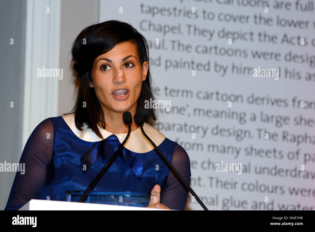 London, UK. 7th Nov 2013.  Mamas & Papas, Advert Award of the year of the Stonewall Awards 2013 taking place at the Victoria and Albert Museum. Credit:  See Li/Alamy Live News - Stock Image