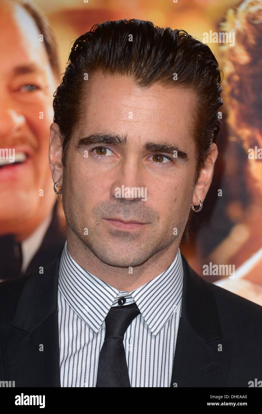 Los Angeles, USA. 7th November 2013. Colin Farrell at the film premiere for Saving Mr Banks at the TCL Chinese Theatre in Hollywood, CA Credit:  Sydney Alford/Alamy Live News - Stock Image