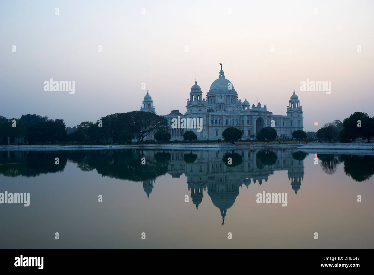 Victoria Memorial, Chowringhee, Kolkata (Calcutta), West Bengal, India, Asia Stock Photo