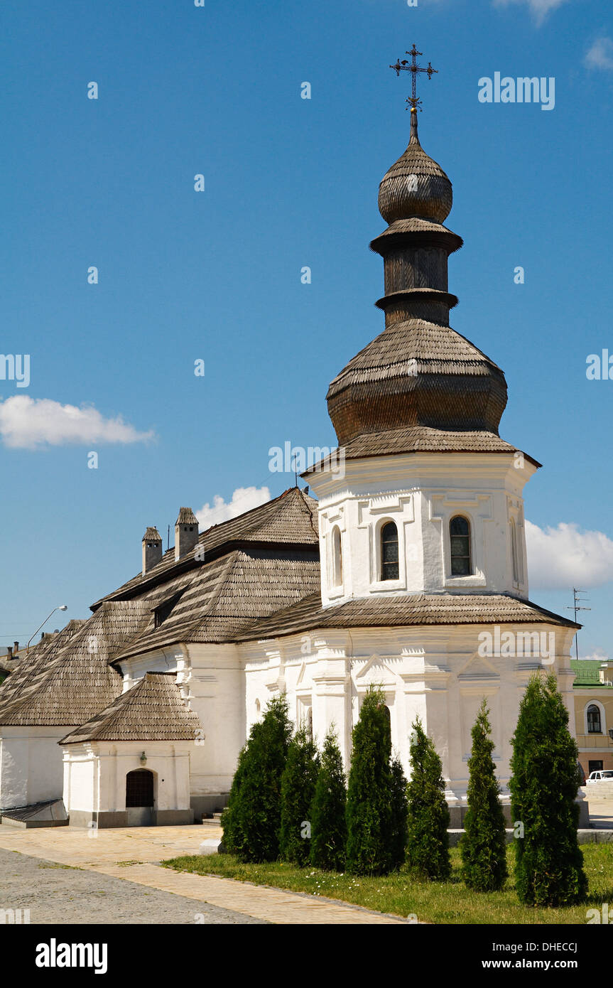 Refectory of St. John the Divine, St. Michael Monastery, Kiev, Ukraine, Europe - Stock Image