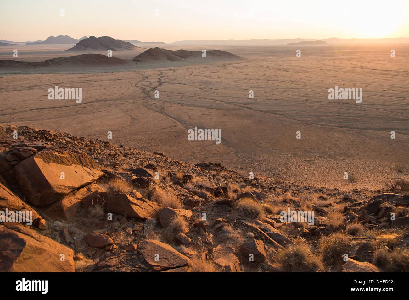 Namib Naukluft landscape, Namibia, Africa - Stock Image