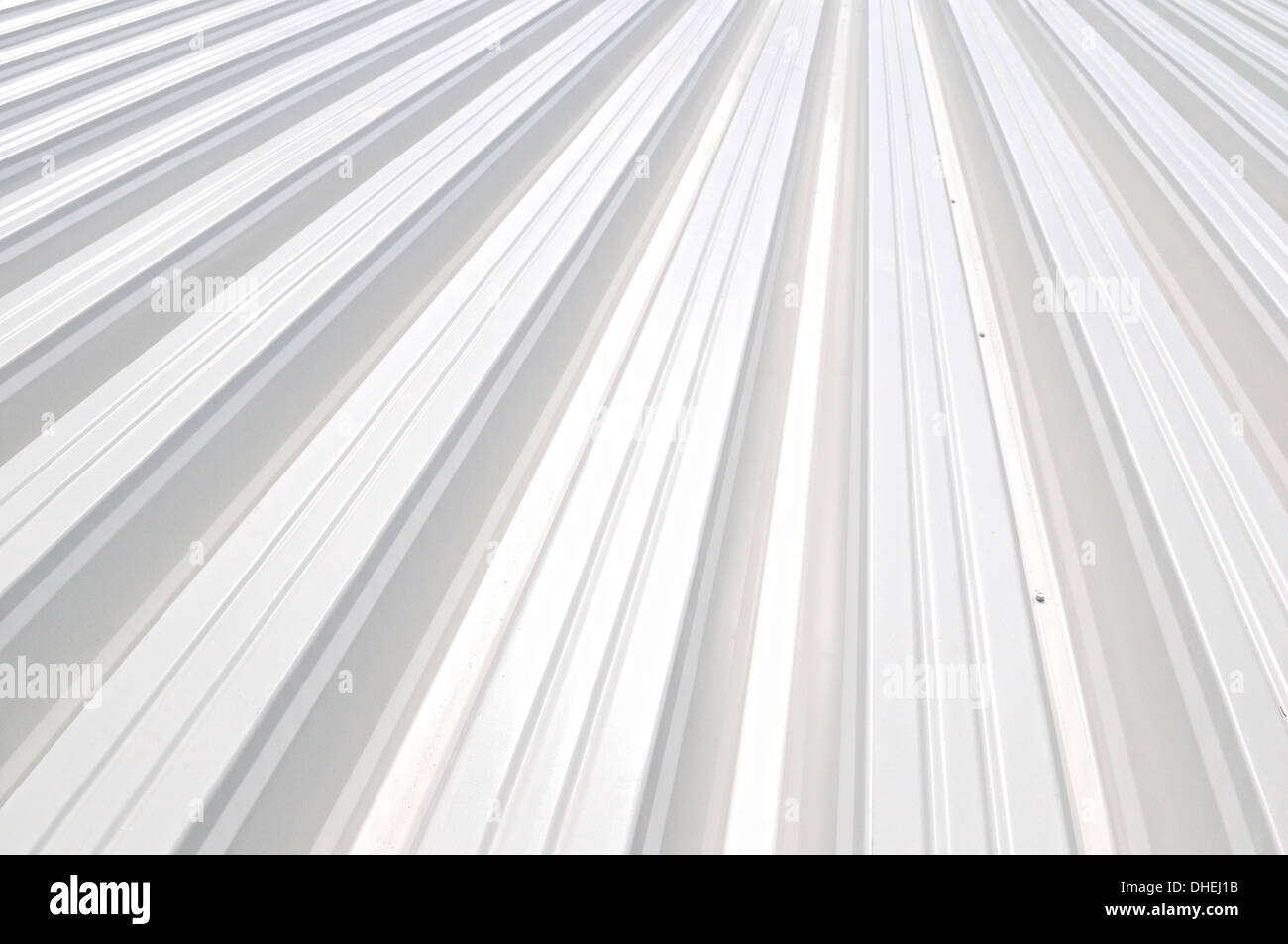 Trapezoidal sheet - Stock Image
