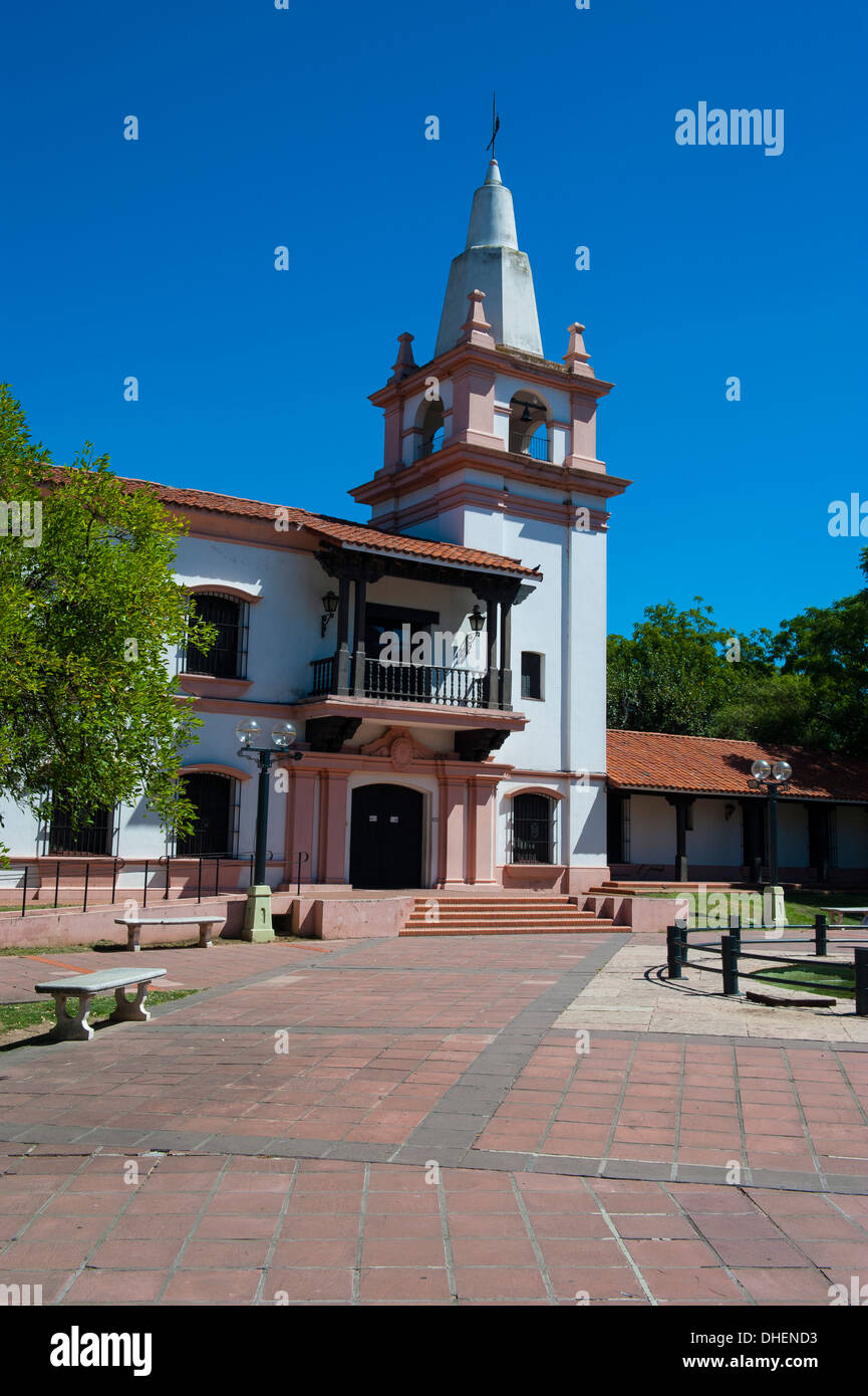 Plaza de las Tres Cultures, Santa Fe, capital of the province of Santa Fe, Argentina - Stock Image