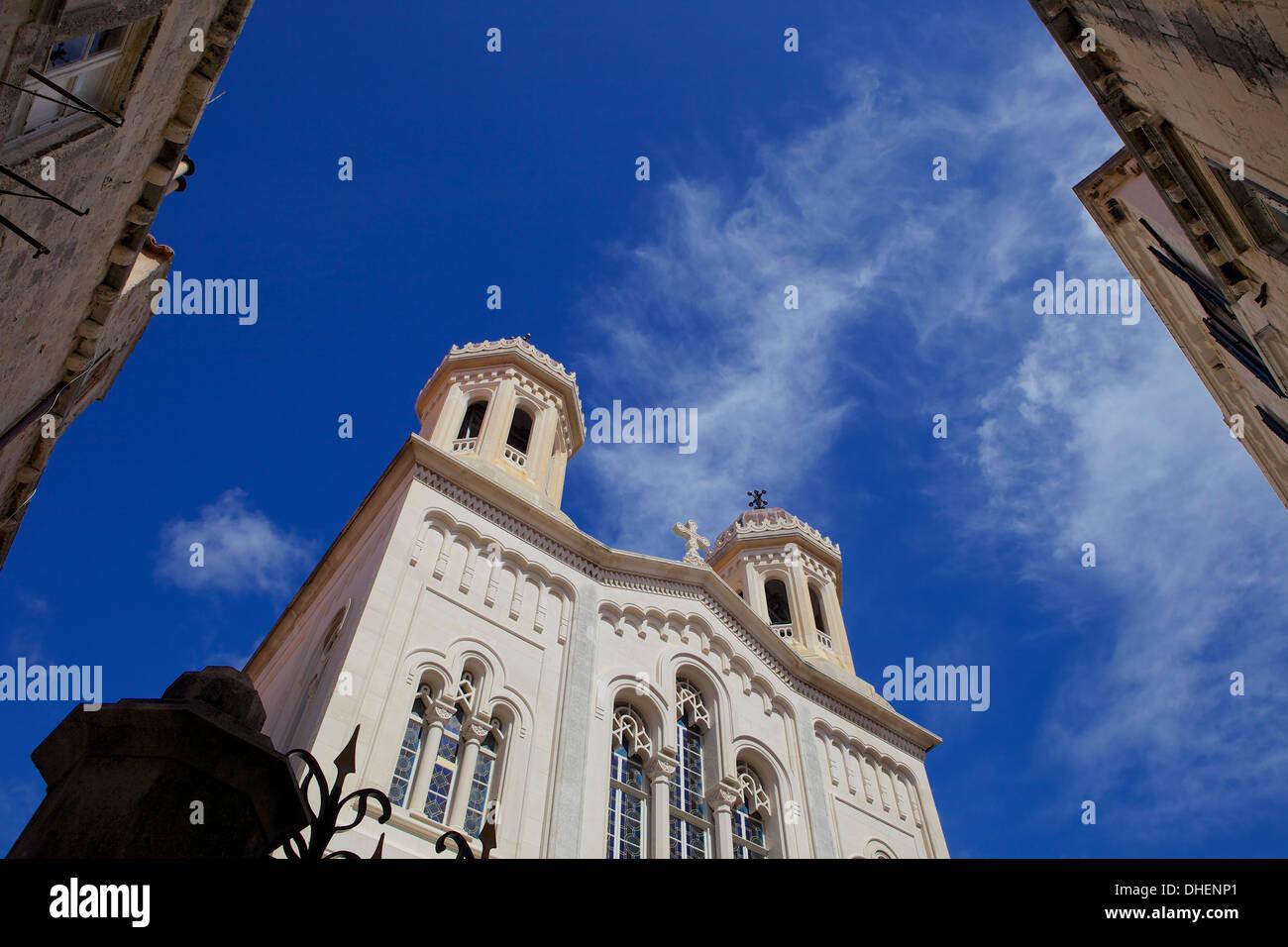 Serbian Orthodox church, Old Town Dubrovnik, Croatia, Europe - Stock Image