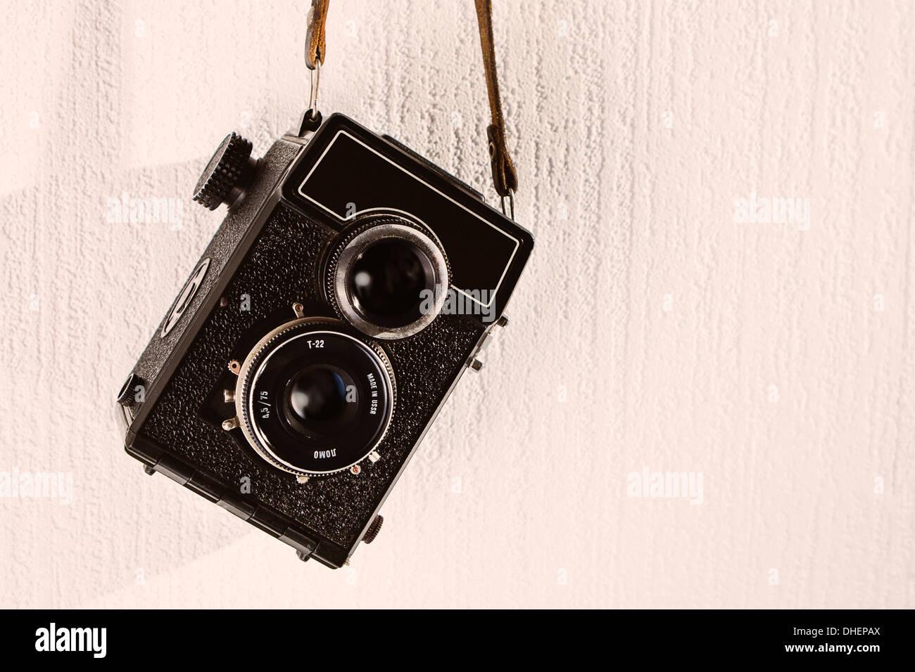 Soviet camera - Stock Image