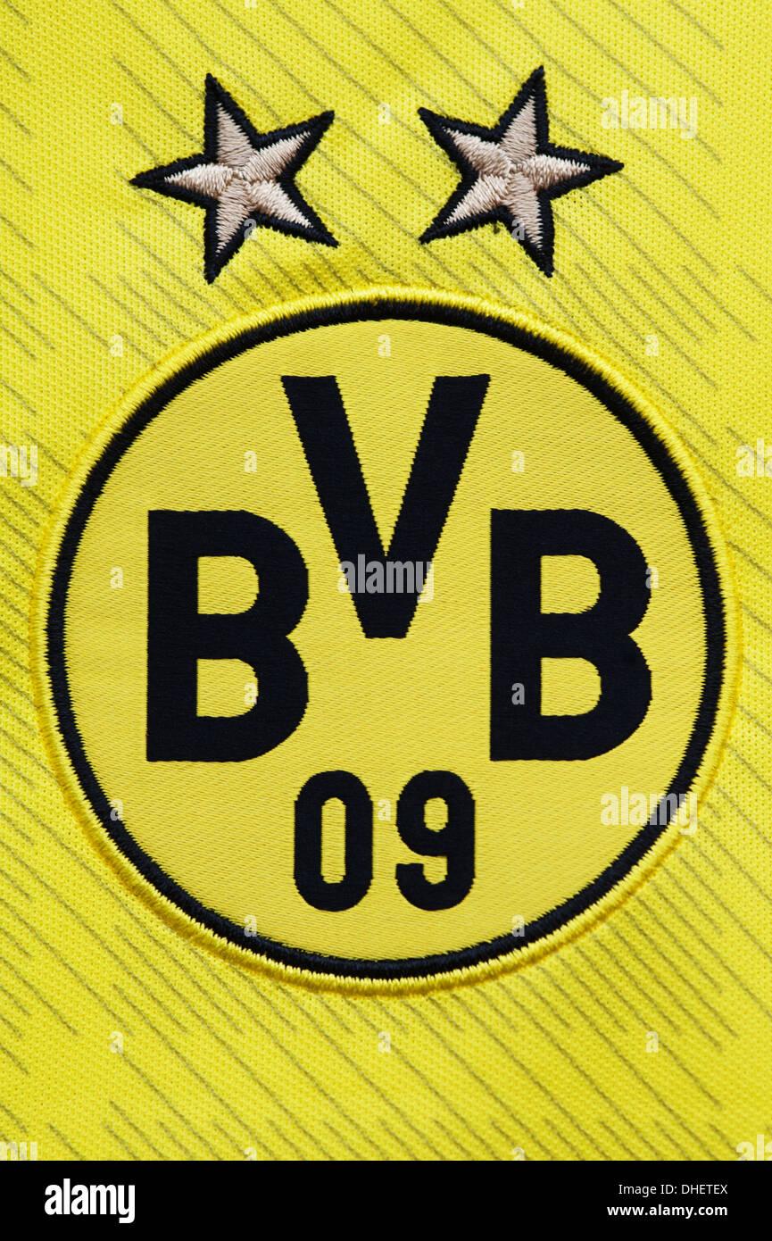 Borussia Dortmund Club Badge - Stock Image