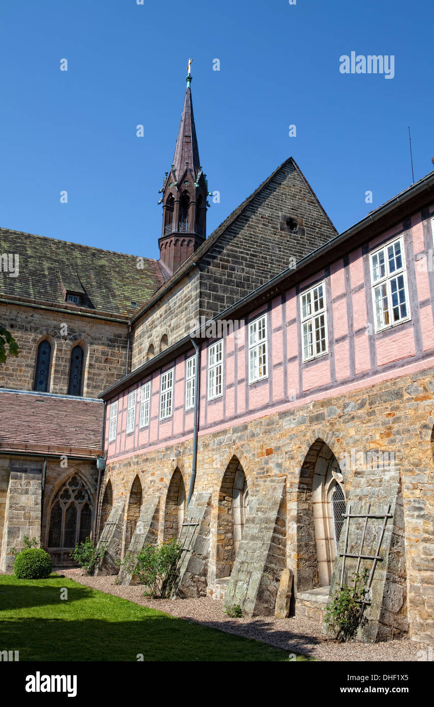 Cistercian monastery Loccum, Lower Saxony, Germany - Stock Image