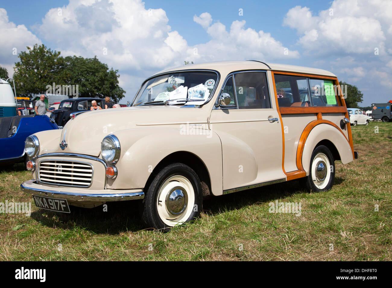 A Morris 1000 Traveller. - Stock Image