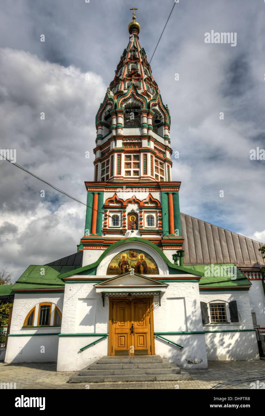 The Church of St. Nicholas the Wonderworker in Khamovniki - the shrine of Moscow