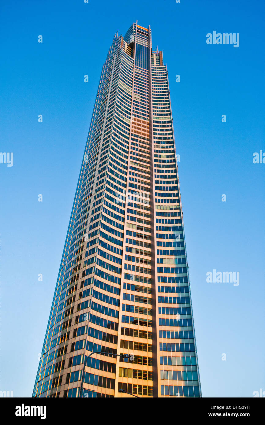 Australia, Queensland, view of the Q1 building at Surfers Paradise, Gold Coast - Stock Image