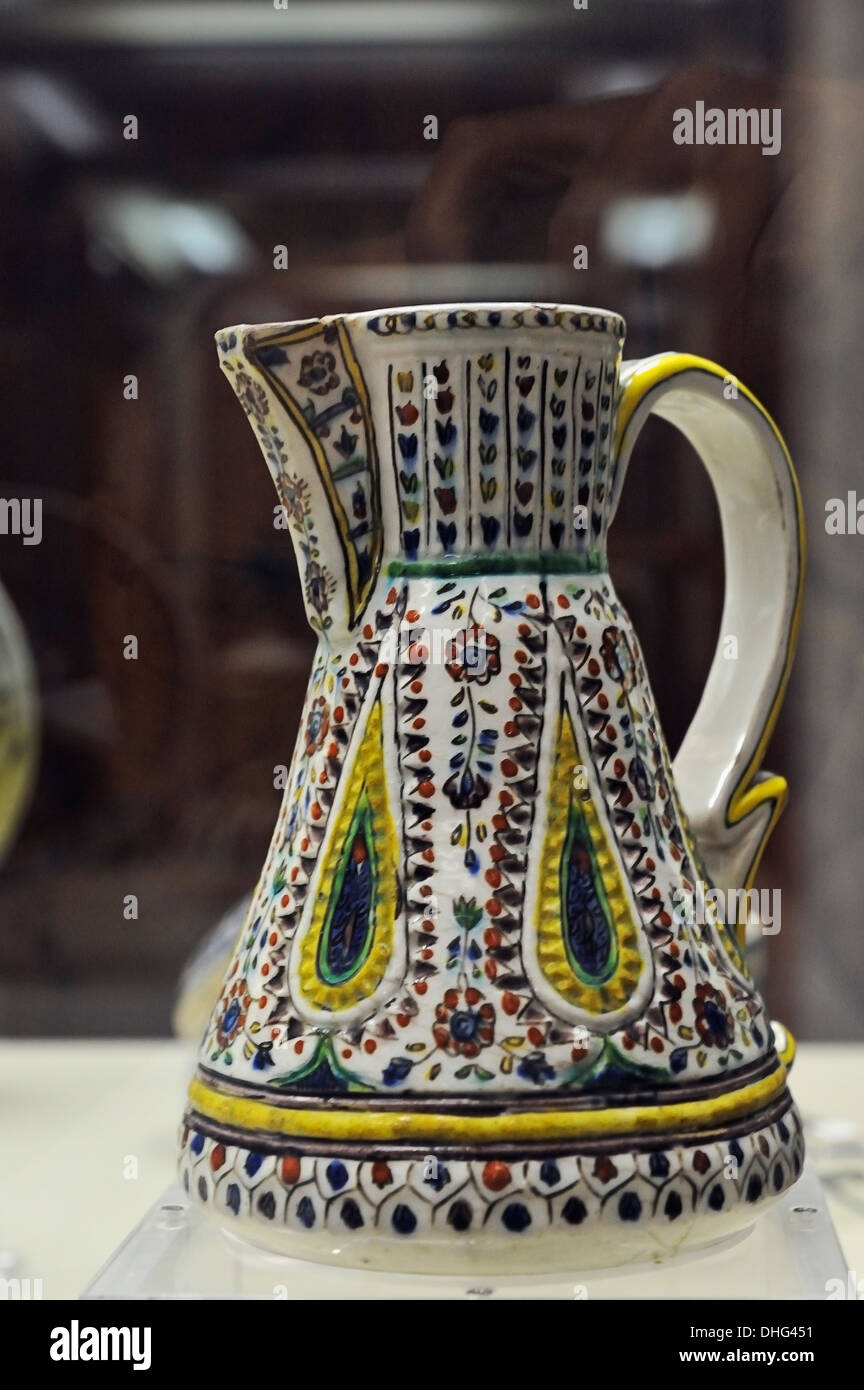 Kütahya c.1750, Çinili Köşk, Ceramics Museum, Istanbul, Turkey 130914 31480 Stock Photo