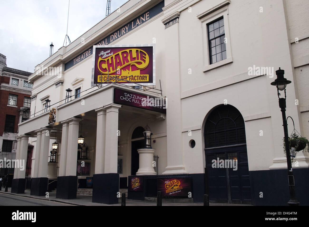Theatre Royal Drury Lane, London UK - Stock Image