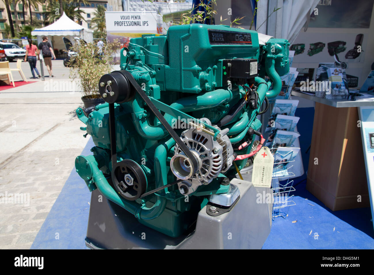Marine Diesel Stock Photos Images Alamy Volvo Penta Fuel Filter Wrench Engine Industry Image