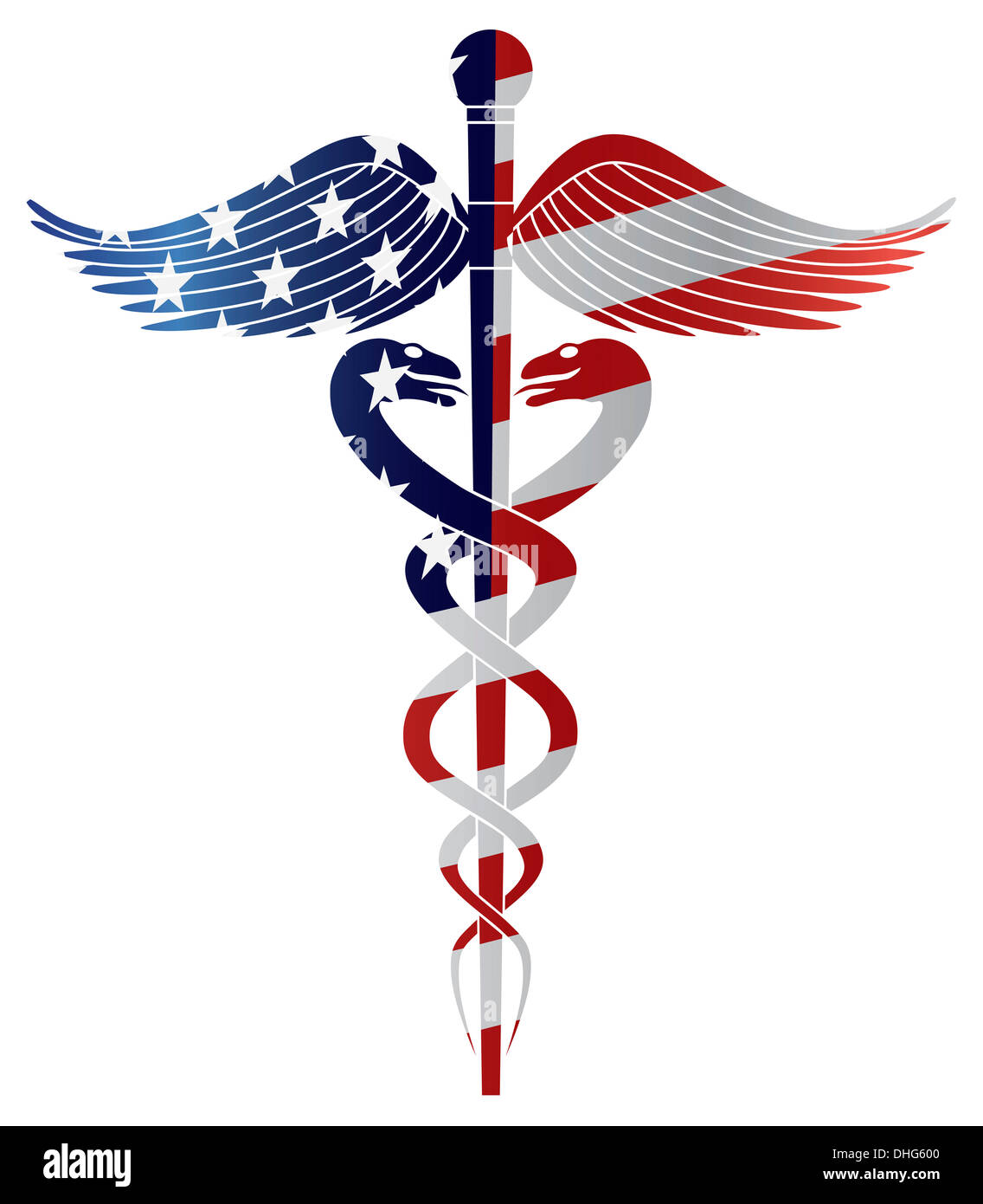 Caduceus Staff Of Hermes Stock Photos Amp Caduceus Staff Of