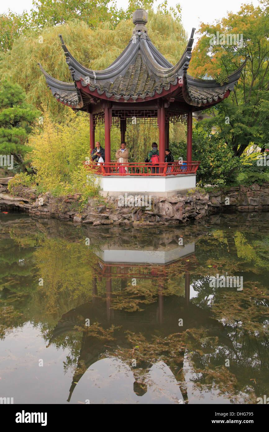 Canada, Vancouver, Chinatown, Dr. Sun Yat-Sen Chinese Garden Stock ...
