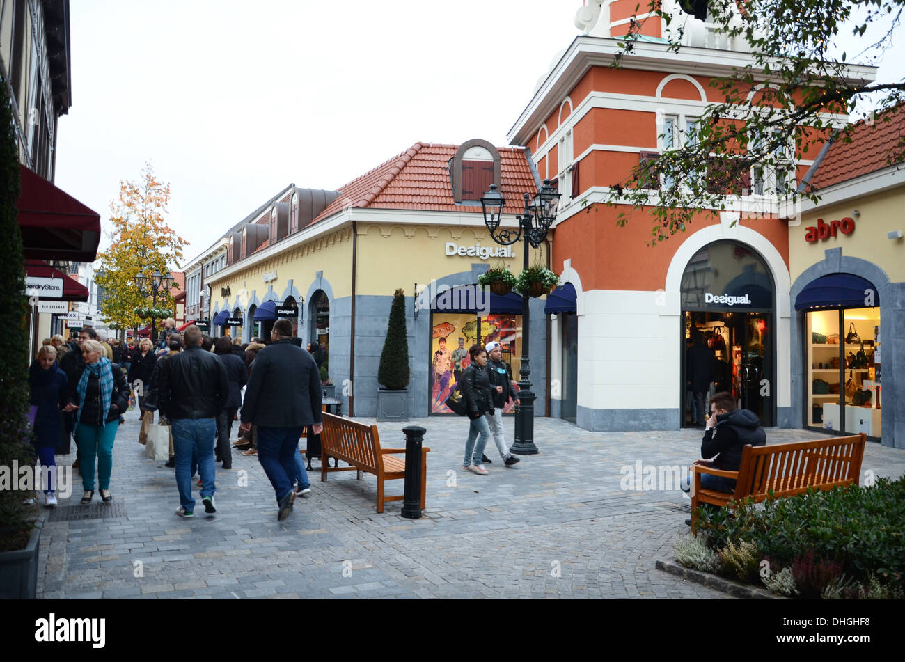 mcarthur glen designer outlet center roermond netherlands stock photo 62445244 alamy. Black Bedroom Furniture Sets. Home Design Ideas