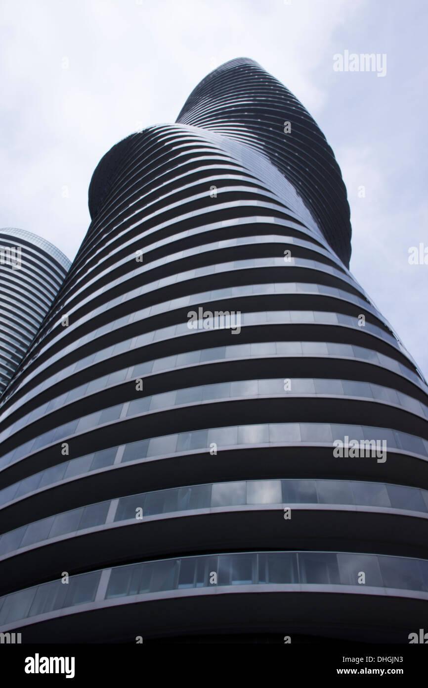 Luxury Condo Building - Stock Image