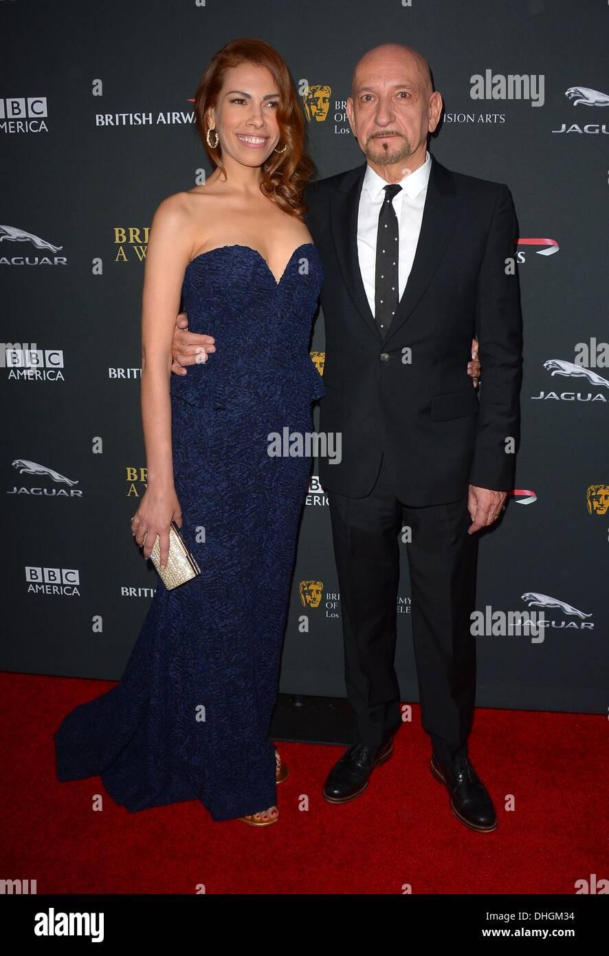 Sir Ben Kingsley arrives at the BAFTA LA Britannia Awards in Los Angeles, California, November 9th 2013 - Stock Image