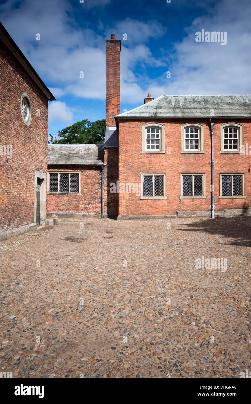 One of the estate buildings at Dunham Massey in Cheshire, England, UK - Stock Image