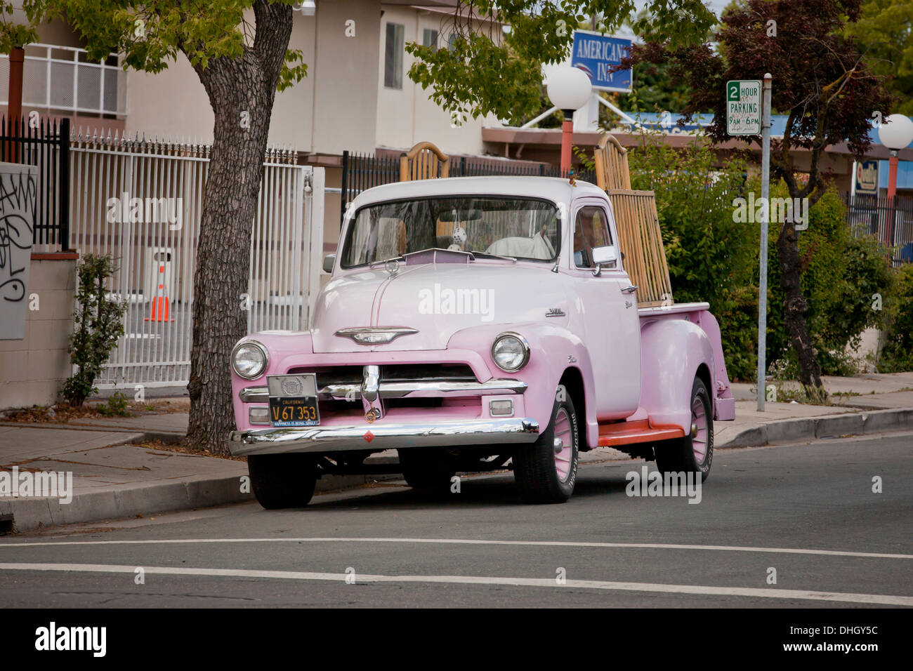 Pink Chevy High Resolution Stock Photography And Images Alamy