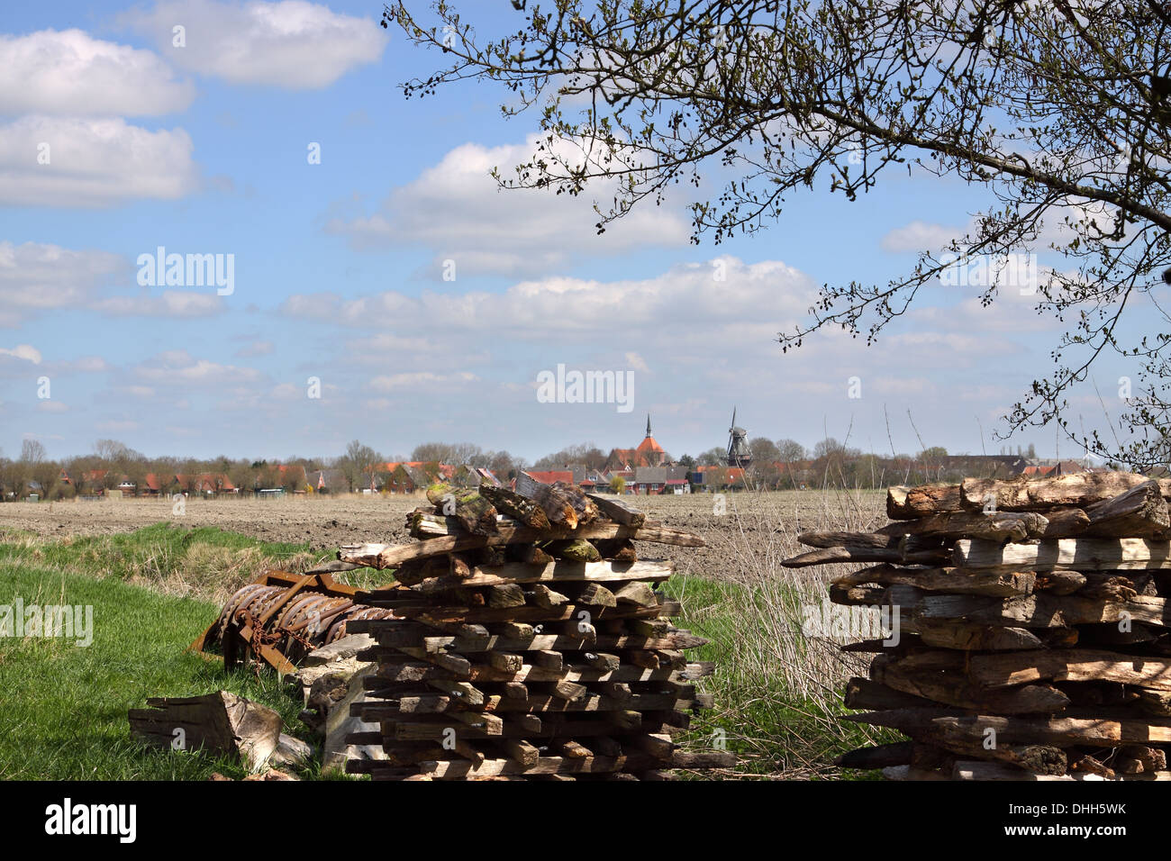 Spring Weather - Stock Image