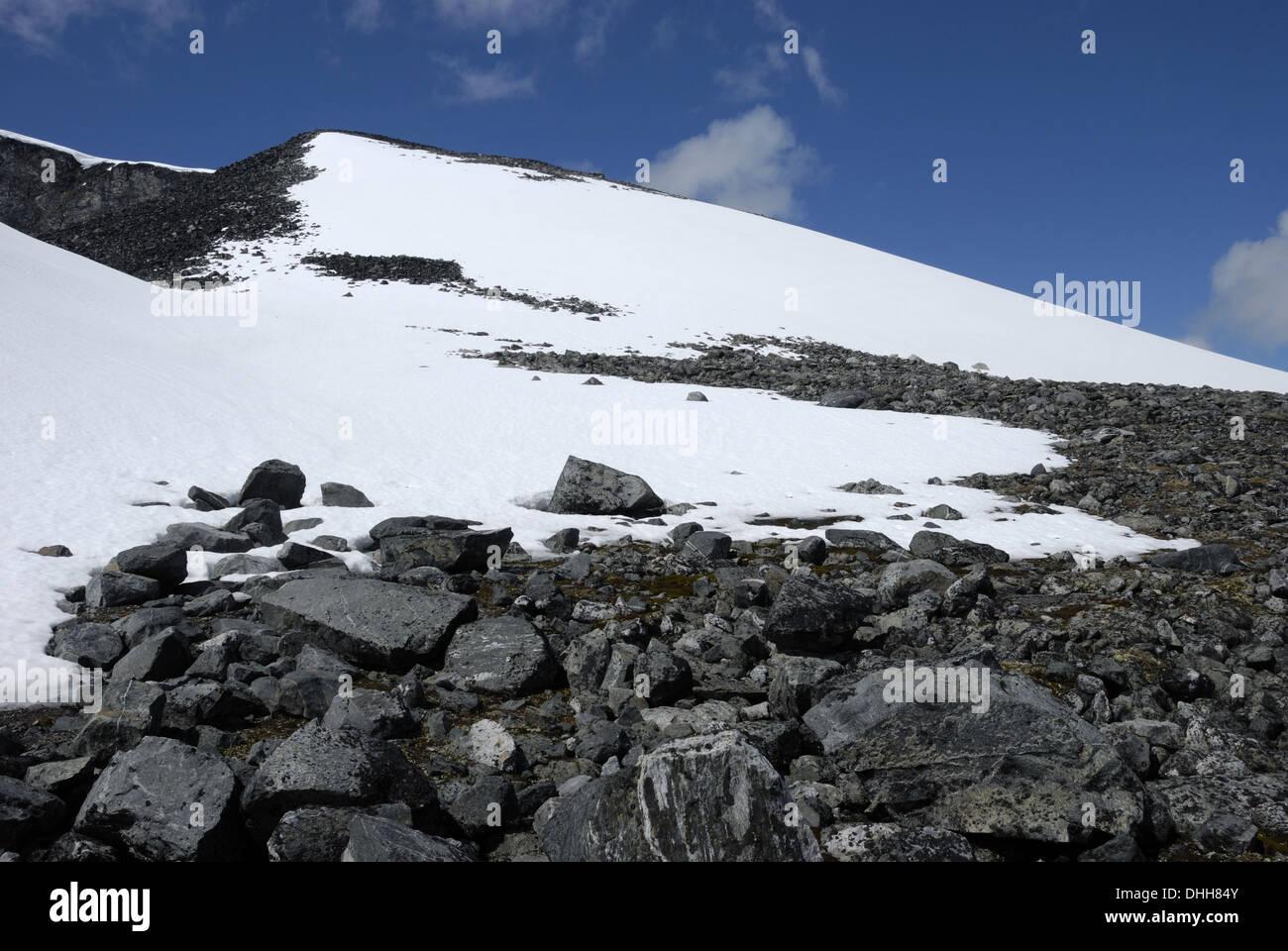 Mountain in Jotunheimen National Park - Stock Image