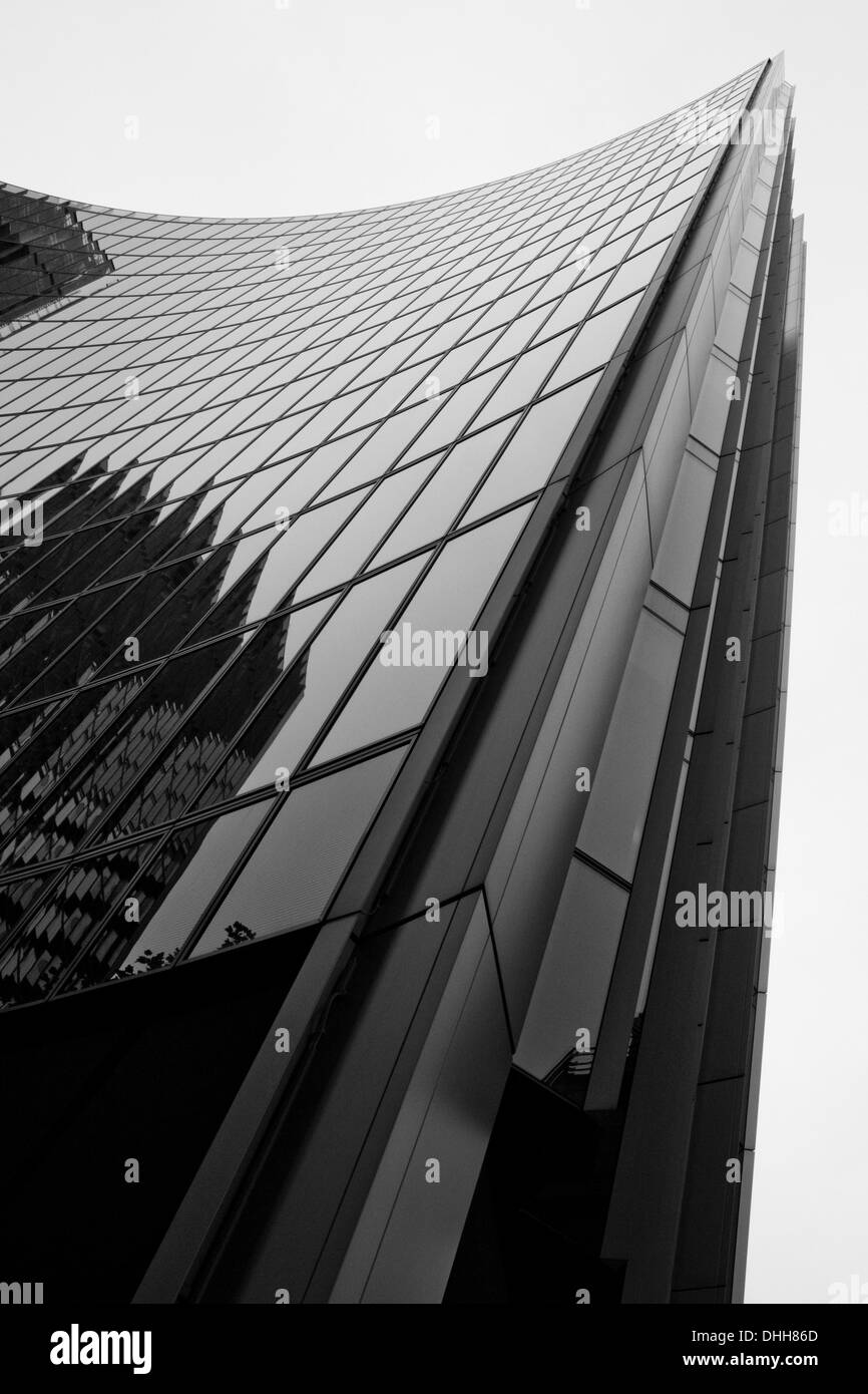 Curve of the Willis Building - Stock Image