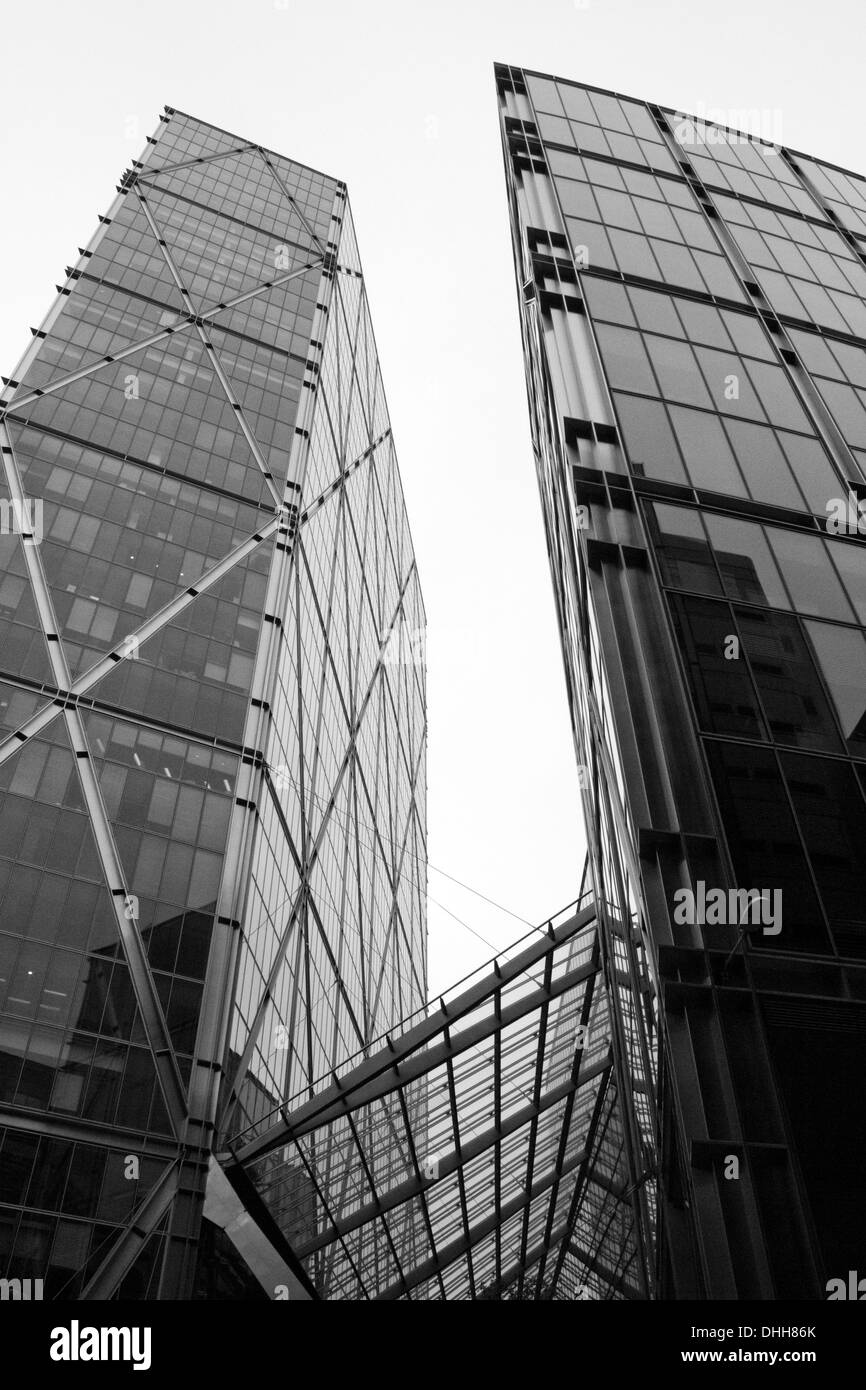 LONDON - SEPTEMBER 21: The Broadgate Tower pictured on September 21, 2013, during the annual Open House event in London, UK. - Stock Image