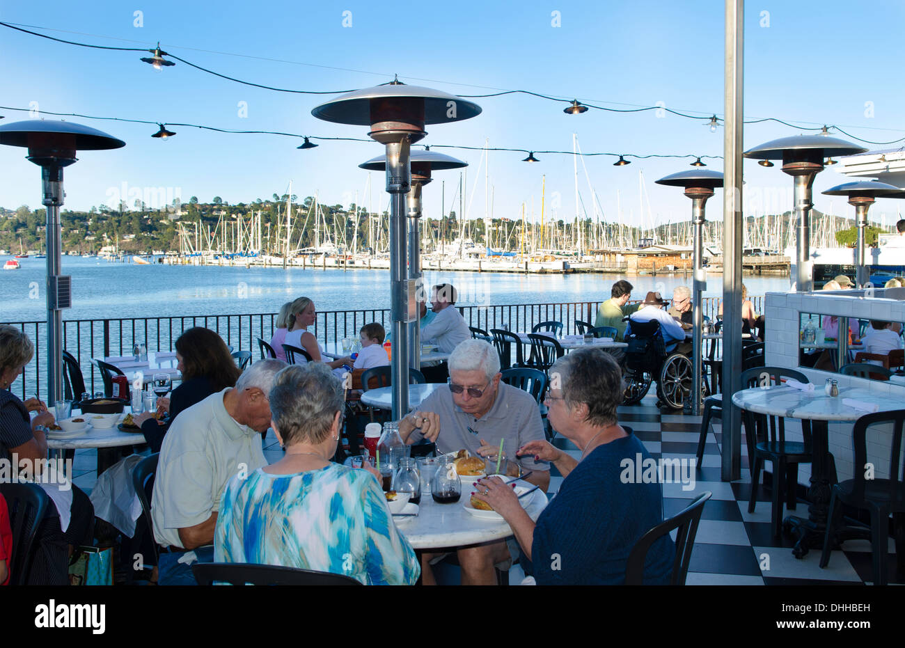 Sausalito California Ca Above San Francisco Famous