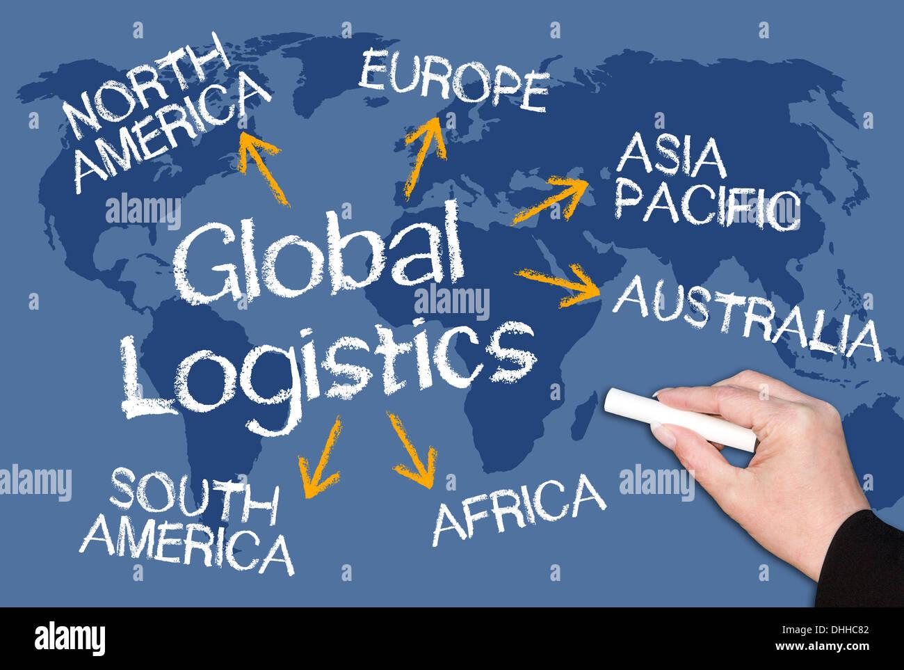 Global Logistics Stock Photo
