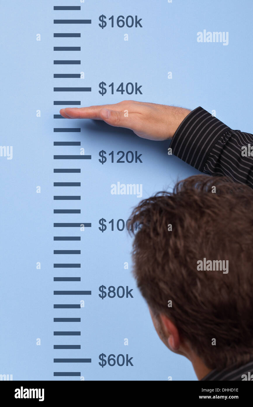 Measuring growth - Stock Image