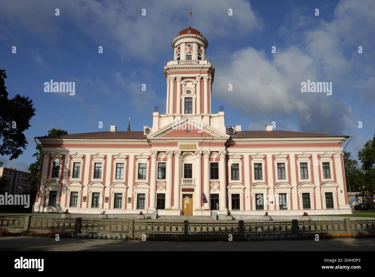 Academia Petrina in Jelgava - Stock Image
