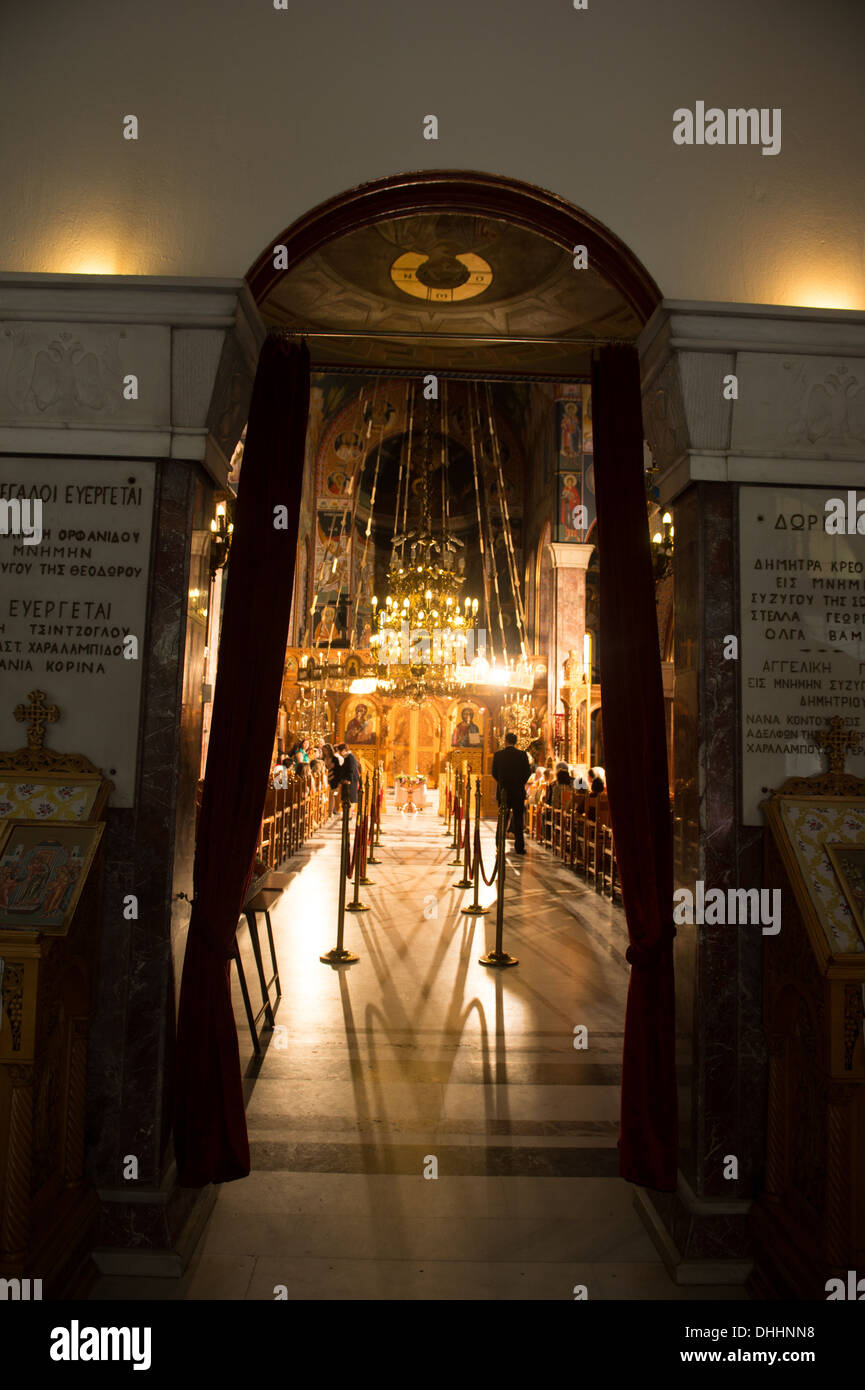 Christian Church Interior Entrance Gate Door Art Warm Preparation